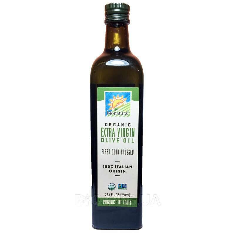 Органическое оливковое масло экстра вирджин  750 мл фото товара