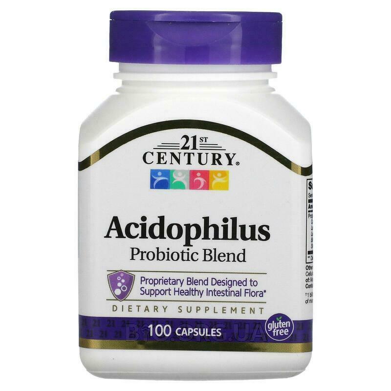 21 век Ацидофилин высокого дествия 100 капсул фото товара