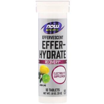 Купить Sports Effer-Hydrate Lemon Lime 10 Tablets 51 g ( Sports Елект...