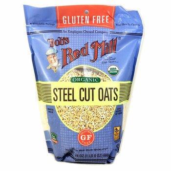 Купить Organic Steel Cut Oats Gluten Free 680 g