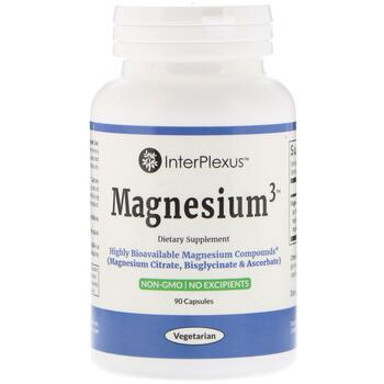 Купить InterPlexus Inc. Magnesium3 90 Capsules