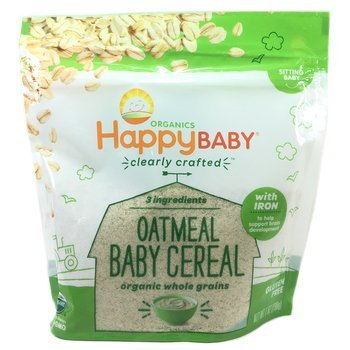 Купить Happy Family Organics Oatmeal Baby Cereal 198 g