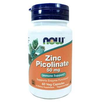 Купить Zinc Picolinate 50 mg 60 Veg Capsules