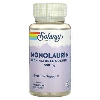 Купить Solaray Monolaurin 500 mg 60 Veggie Caps
