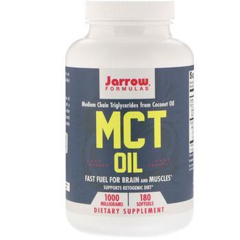 Купить Jarrow Formulas Масло MCT 1000 мг 180 гелевых капсул