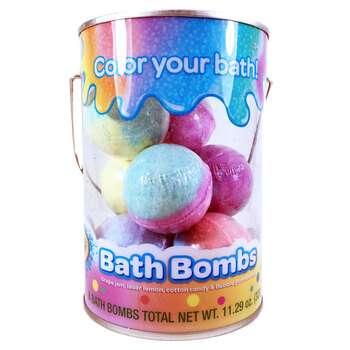 Купить Bath Bombs Grape Jam Laser Lemon Cotton Candy & Bubble Gum Sce...