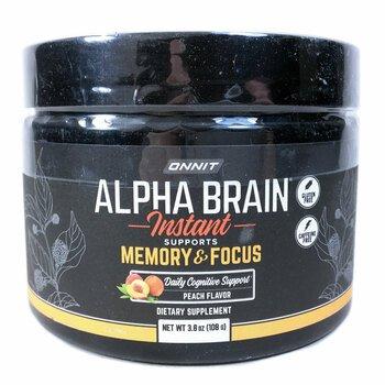 Купить Onnit Alpha Brain Instant Support Memory & Focus Powder 93 g