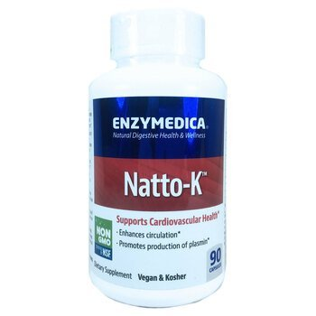 Купить Enzymedica Natto-K Cardiovascular 90 Capsules