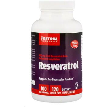 Купить Jarrow Formulas Resveratrol 100 mg 120 Veggie Caps