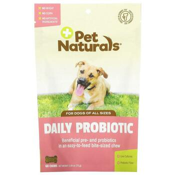 Купить Pet Naturals of Vermont Daily Probiotic For Dogs of All Sizes ...