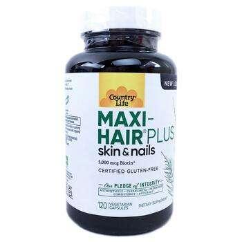 Купить Maxi-Hair Plus 5000 mcg 120 Veggie Caps