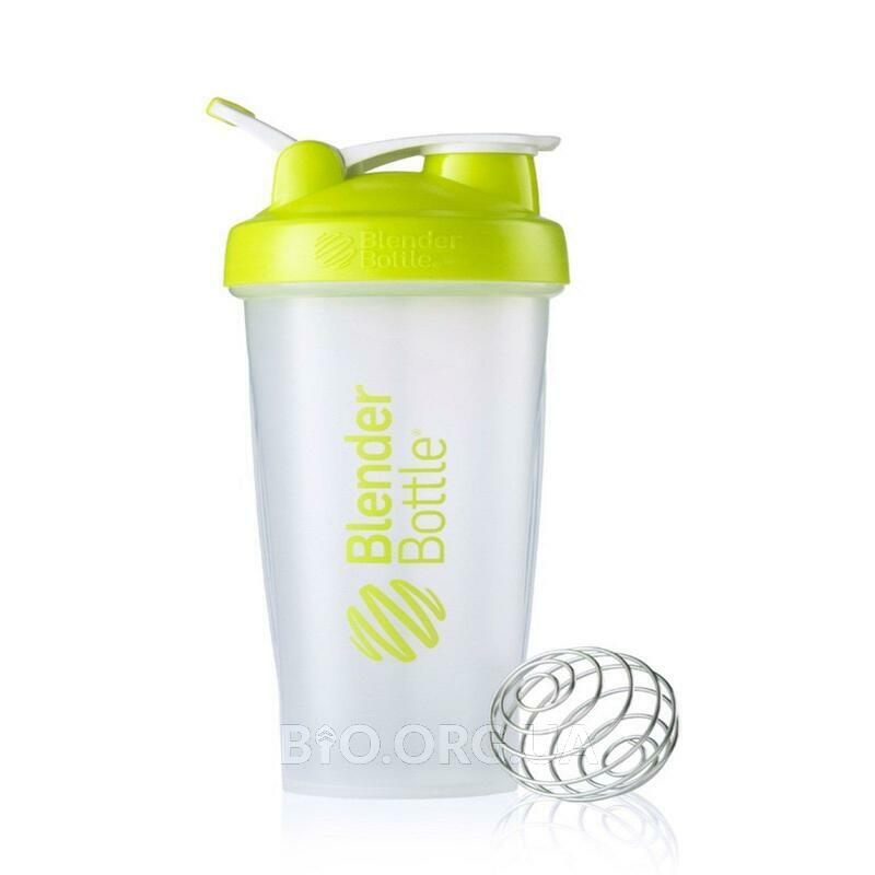 Classic Blender Bottle with Loop Lime Green 28Bottle фото товара