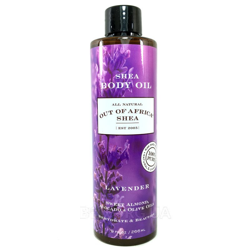Shea Body Oil with Vitamin E Lavender 266 ml фото товара