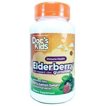 Купить Kids Elderberry with Vitamin C 60 Gummies