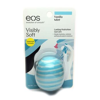Купить Visibly Soft Lip Balm Sphere Vanilla Mint 7 g (ЕОС м'який баль...
