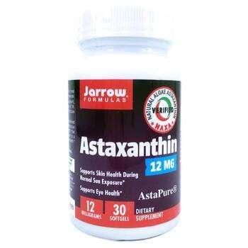 Купить Astaxanthin 12 mg 30 Softgels (Астаксантин 12 мг 30 гелевих ка...