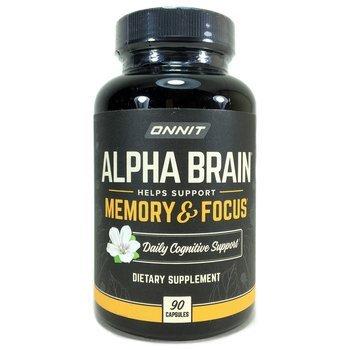 Купить Onnit Alpha Brain Memory & Focus 90 Capsules