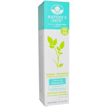 Купить Natures Gate Natural Toothpaste Creme de Peppermint Flouride a...