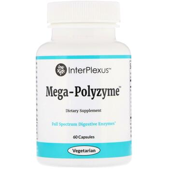 Купить InterPlexus Inc. Mega-Polyzyme 60 Capsules