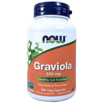 Купить Graviola 500 mg 100 Veg Capsules