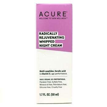 Купить Acure Radically Rejuvenating Whipped Night Cream 50 ml