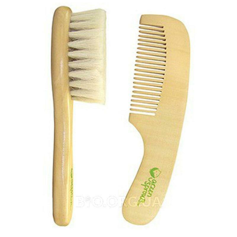 Набор из щетки для волос и расчески 2 шт фото товара