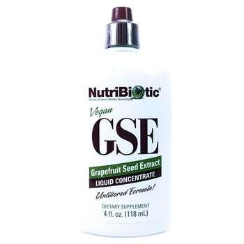 Купить NutriBiotic GSE Grapefruit Seed Extract Liquid 118 ml