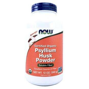 Купить Certified Organic Psyllium Husk Powder 340 g (Порошок лушпиння...