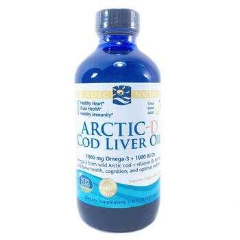 Купить Nordic Naturals Arctic-D Cod Liver Oil Lemon 237 ml