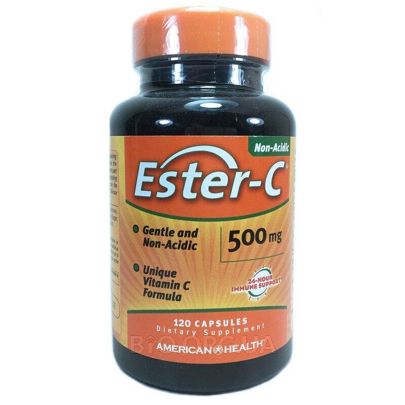 Американ Хелс Витамин Эстер C 500 мг 120 капсул фото товара