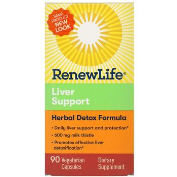 Купить Extra Care Liver Support Herbal Detox Formula 90 Vegetable Cap...