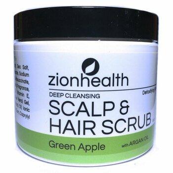 Купить Deep Cleansing Scalp & Hair Scrub with Argan Oil Green Apple 1...
