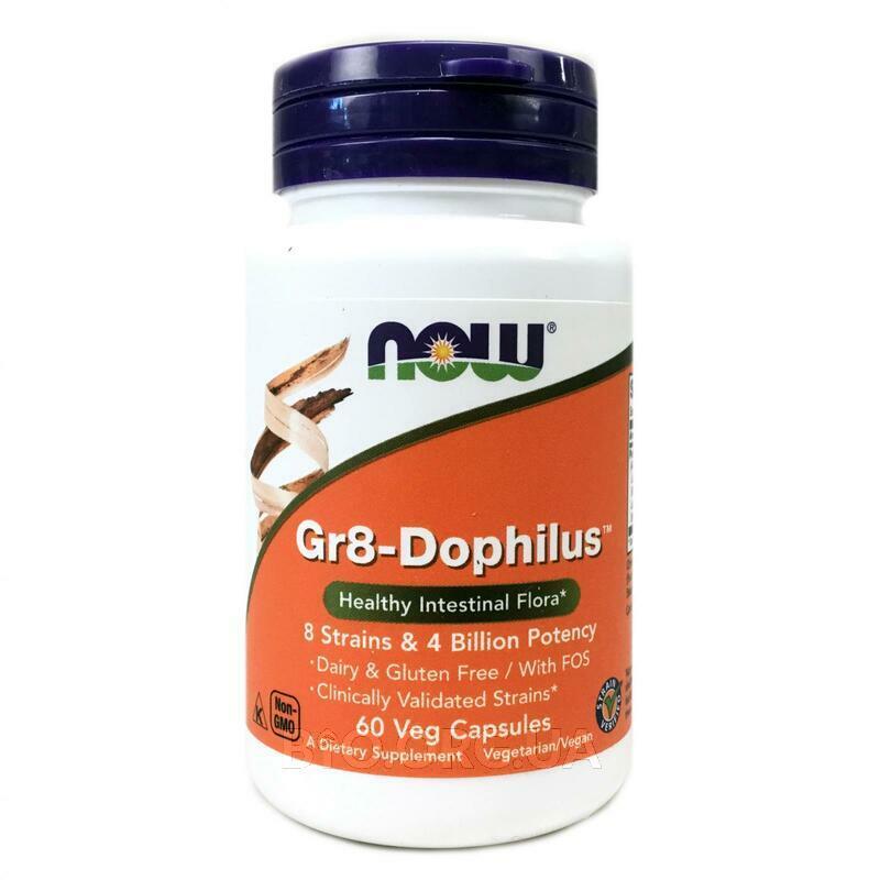 пробиотики Gr8 Дофилус 60 Капсул фото товара