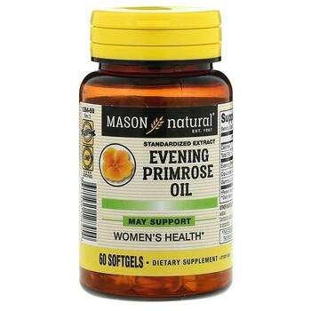 Купить Mason Natural Evening Primrose Oil 60 Softgels