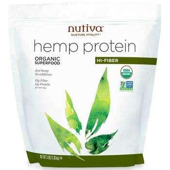 Купить Nutiva Organic Hemp Protein Hi Fiber 1.36 kg