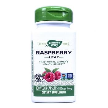 Купить Raspberry Leaf 450 mg 100 Vegetarian Capsules