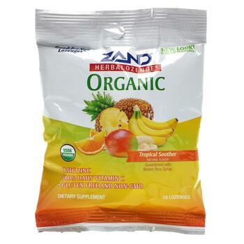 Купить Organic Herbalozenge Tropical Soother 18 Lozenges ( Organic He...