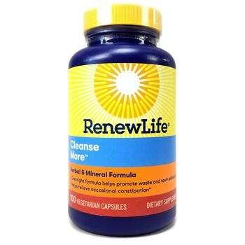 Купить Renew Life CleanseMore 100 Veg Capsules