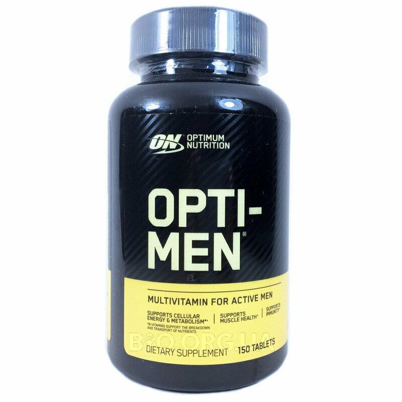 Мультивитамины для мужчин Опти Мен 150 таблеток фото товара
