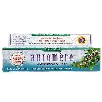 Купить Ayurvedic Herbal Toothpaste Fresh Mint 117 g (Аюрведическая тр...