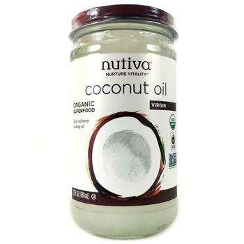 Купить Nutiva Organic Coconut Oil Virgin 680 ml