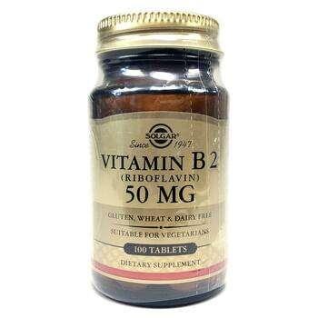 Купить Vitamin B2 50 mg 100 Tablets ( Вітамін B2 Рибофлавін 50 мг 100...