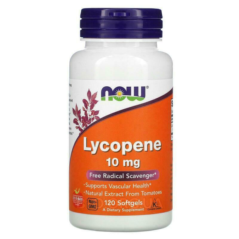 Now Foods Lycopene 120 Softgels