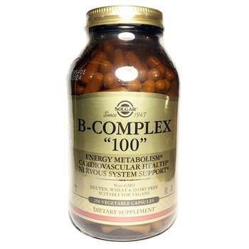 Купить B-Complex 100 250 Capsules ( Комплекс Вітаміну B 250 капсул)