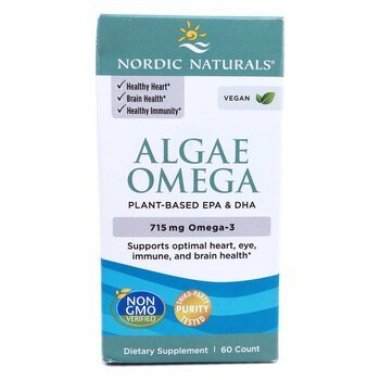 Купить Nordic Naturals Algae Omega 715 mg 60 Soft Gels