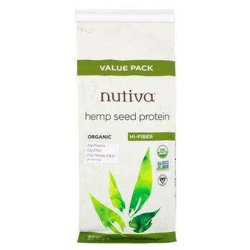 Купить Nutiva Organic Hemp Protein Hi Fiber 851 g