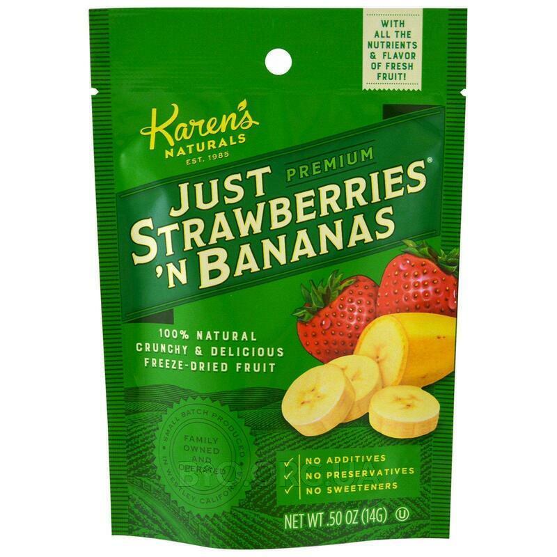 Сушенные бананы и клубника 14 г фото товара