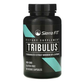 Купить Sierra Fit Tribulus Standardized Extract 1000 mg Per Serving 9...