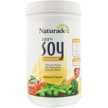 Купить Naturade 100% Soy Protein Booster Natural Flavor 840 g