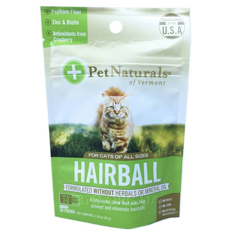 Hairball For Cats 30 Chews 45 g